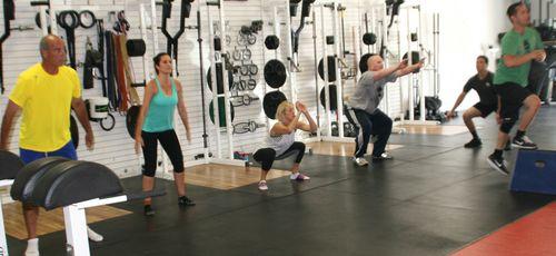 Squats and Step Ups